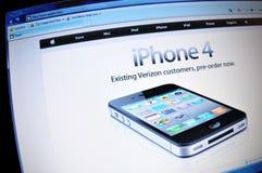 4 iphone 免版税库存照片
