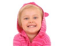 4 jaar oud meisjes Royalty-vrije Stock Afbeelding