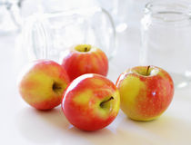 4 jabłka Obraz Royalty Free