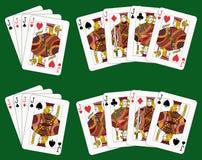 4 jacks Стоковые Изображения RF