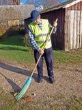 4 janitor Obraz Royalty Free