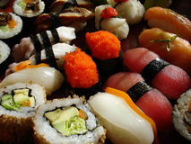 4 japończyków sushi Obraz Stock