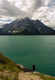 4 jeziora Kananaskis górne Obrazy Royalty Free