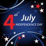 4 juillet Photo libre de droits