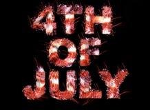 4 juillet Photographie stock