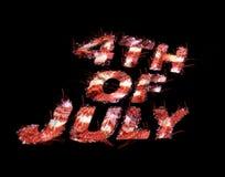 4 juillet Images libres de droits