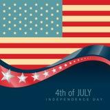 4 juillet Amérique Images stock