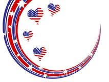 4 juillet - Jour de la Déclaration d'Indépendance Photographie stock libre de droits