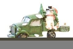 4 julförsäljningstrees Arkivfoton