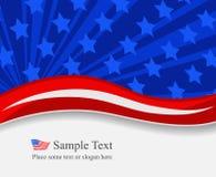 4. Juli-Hintergrund Lizenzfreies Stockfoto