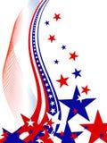 4 juli onafhankelijkheidsdag Royalty-vrije Stock Afbeelding