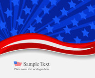 4 july background Royalty Free Stock Photo