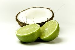 4 kokosów Obraz Royalty Free