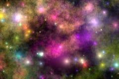 4 kosmosu Zdjęcie Stock