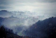 4 krajobrazu Obrazy Royalty Free