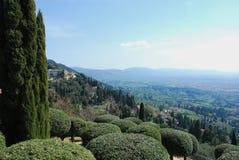 4 krajobrazu Tuscan Obrazy Stock