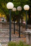 4 lampade di via Immagini Stock
