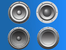 4 Loudspeakers 6 Royalty Free Stock Images