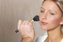 4 makijaż Obraz Royalty Free