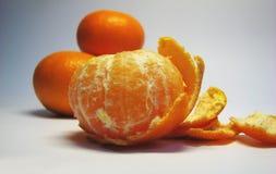 4 mandarins Royaltyfri Bild