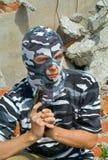 4 maskowy policjant Zdjęcia Stock