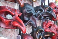 4 maskowy Venice Obrazy Royalty Free