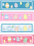 4 matching Easter labels Stock Image