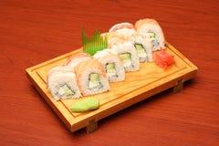 4 mexikanska sushi Arkivbild
