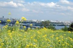 4 miast europejskich Kiev zdjęcie royalty free