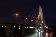 4 miast noc Zdjęcia Royalty Free