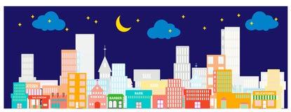 4 miasto ilustracji