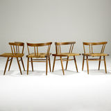 4 modern chairs Stock Photo
