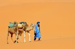 4 morrocan的沙漠 库存照片
