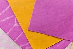 4 morwowa papierów tekstura Zdjęcia Stock
