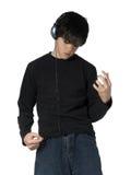 4 muzycznego nastolatków. Obrazy Stock