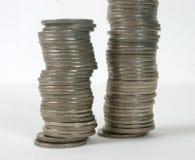 4 mynt Arkivfoto