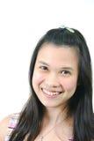 4 naturliga barn för asiatisk flicka Royaltyfria Bilder