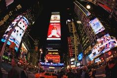 4. November 2008 - das Times Square in NYC Lizenzfreie Stockfotografie