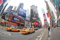 4 novembre 2008 - il Times Square in NYC Fotografie Stock Libere da Diritti