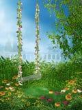 4 ogrodowa wiosna ilustracji