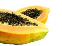4 papaya κόκκινο Στοκ εικόνες με δικαίωμα ελεύθερης χρήσης