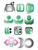 4 piłek logo Fotografia Stock