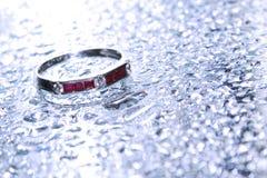 4 pierścionek Obrazy Royalty Free