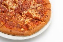 4 pizza fotografia stock