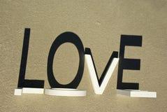 4 plażowa miłość Zdjęcia Stock