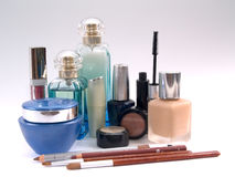 4 produits de beauté Image stock