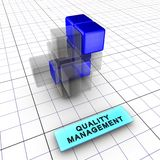 4-Quality gestione (4/6) Fotografia Stock Libera da Diritti