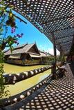 4 régions de Pattaya flottant le marché Photo stock