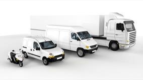 4 różny sposobów transport ilustracji