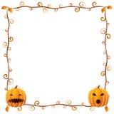 4 ramowy Halloween Fotografia Stock